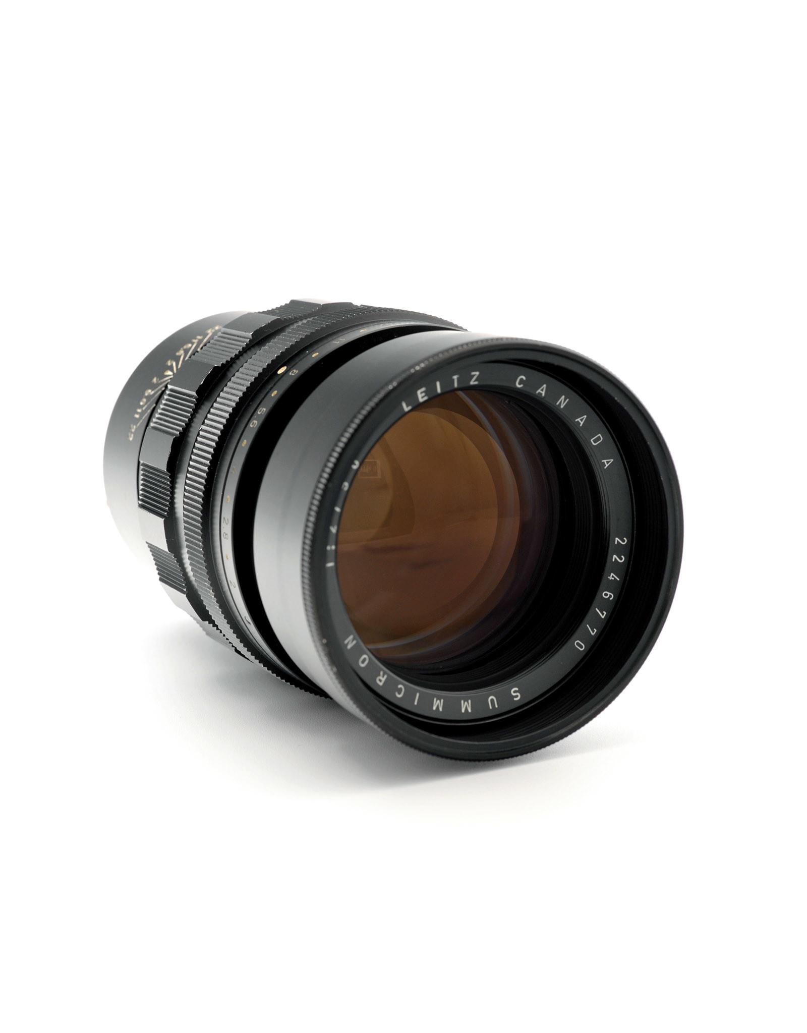 Leica Leica 90mm f2 Summicron  Black (Canada)  AP1043002