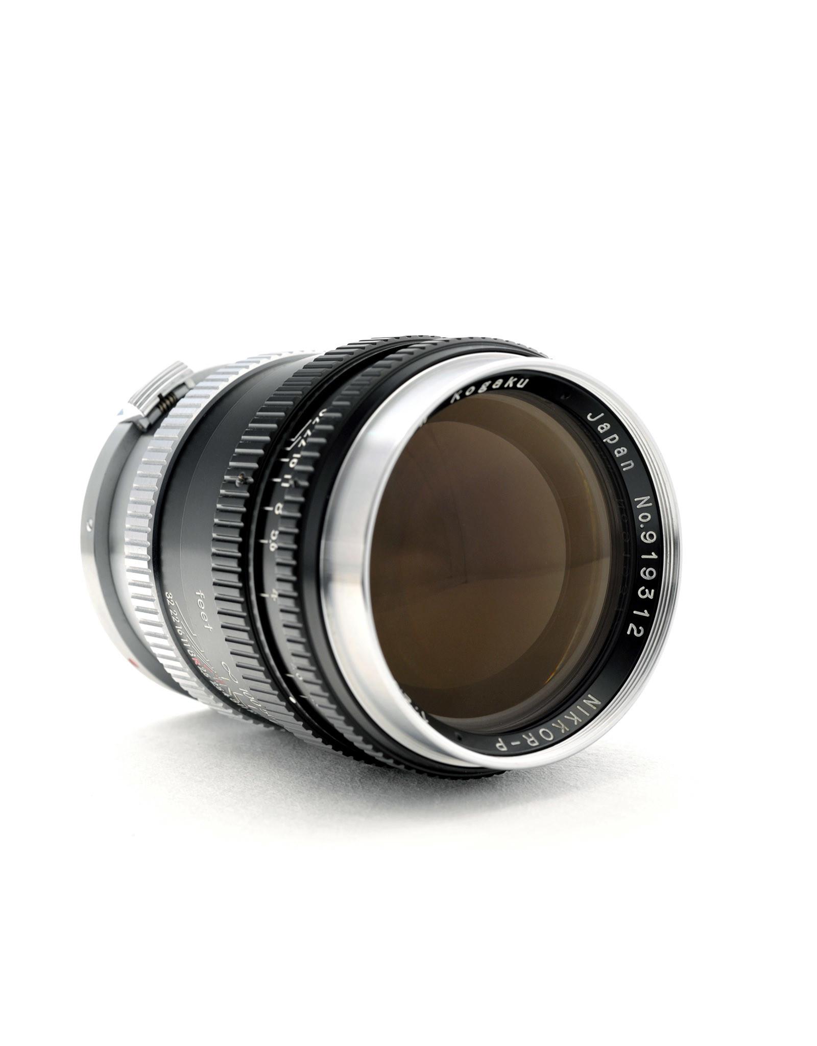 Nikon Nikon 10.5cm f2.5 Nikkor-P      ALC120401