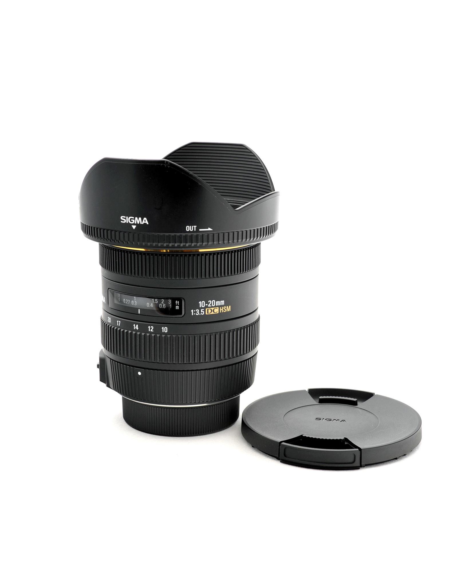 Sigma Sigma 10-20mm f3.5 DC HSM   AP1052907