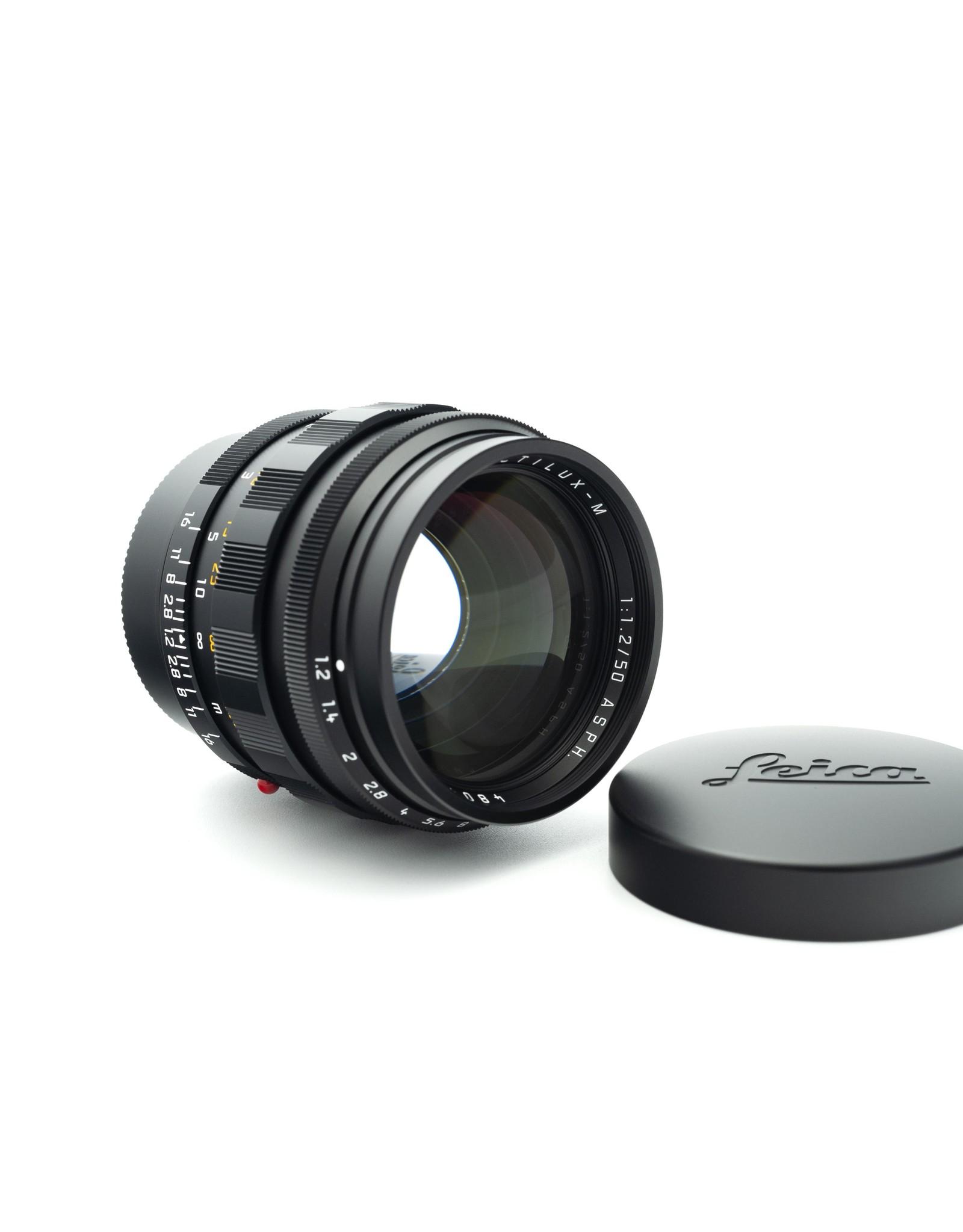 Leica Leica 50mm f1.2 Noctilux-M ASPH Black Chrome 116-86