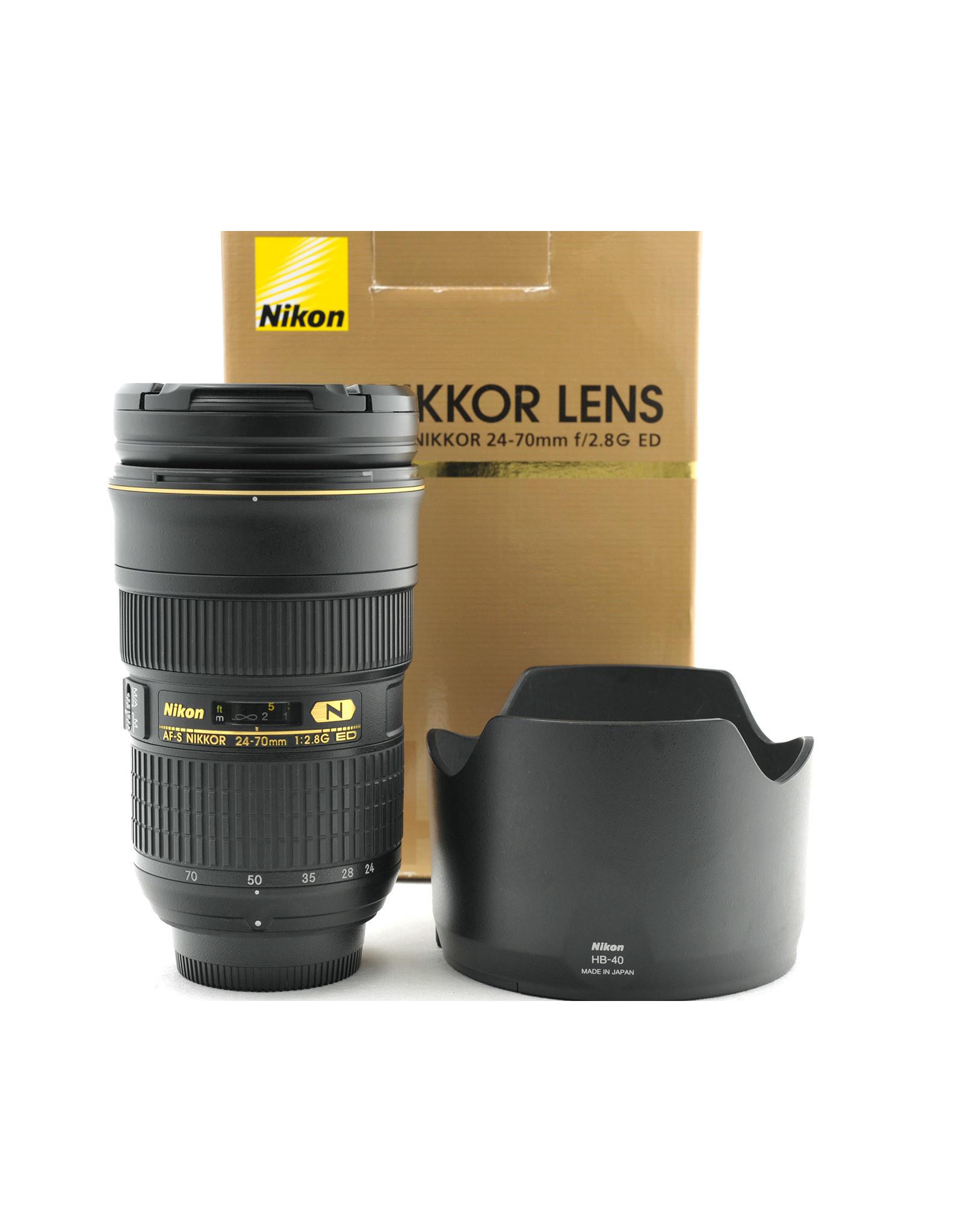 Nikon Nikon 24-70mm f2.8G AF-S ED   AP1061801