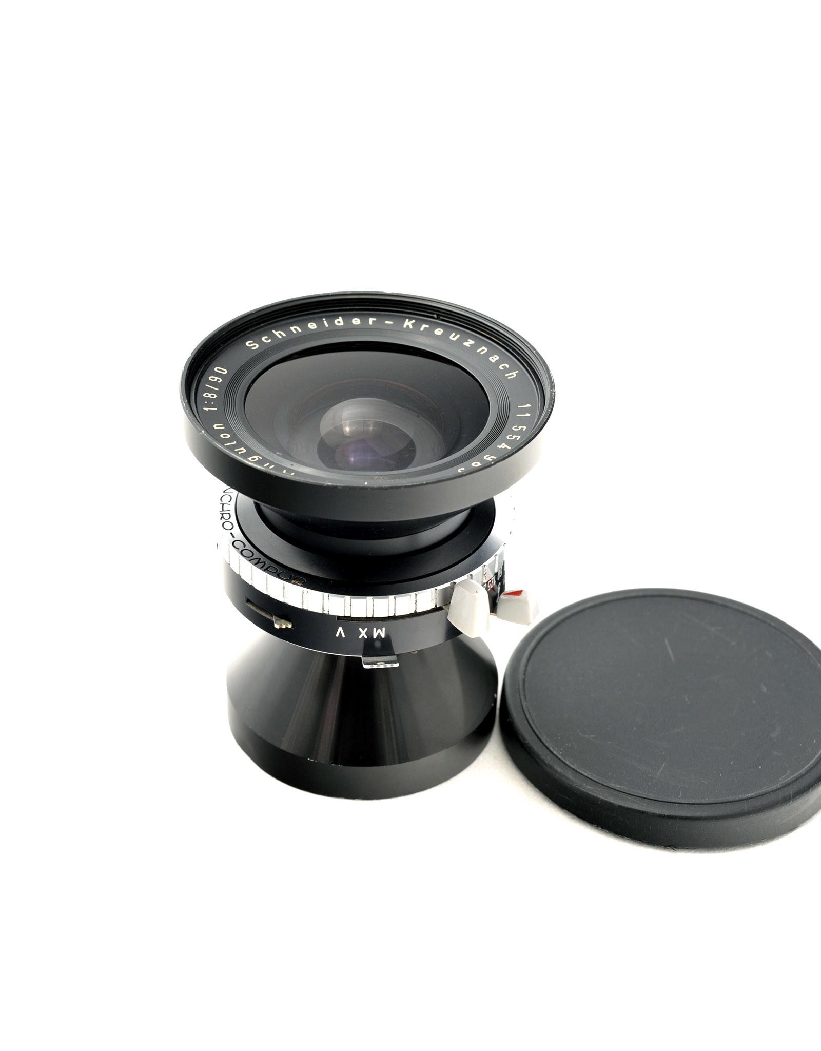 Schneider Schneider 90mm f8 Super-Angulon ( Syncro-Compur)   AP1061606