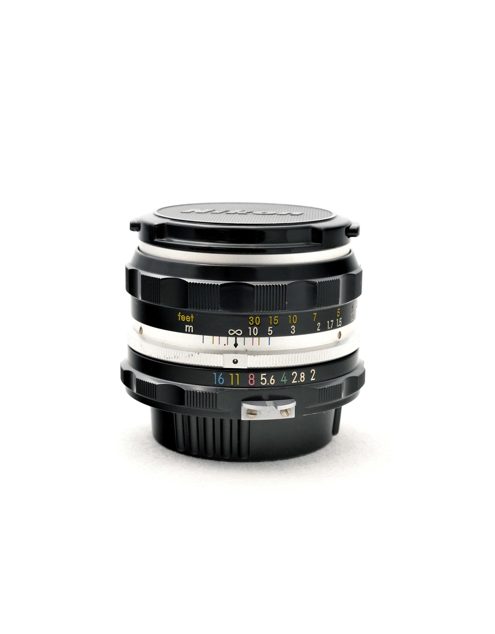 Nikon Nikon 50mm f2 Nikkor-H   AP1070703