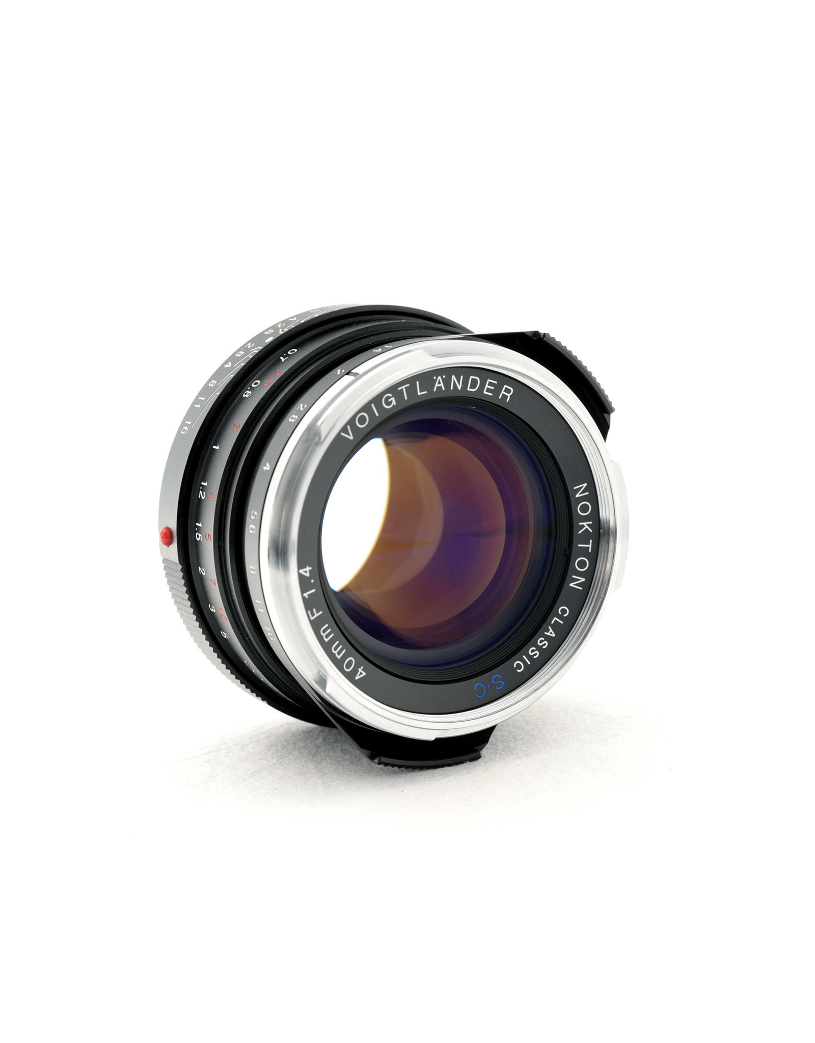 Voigtlander Voigtlander 40mm f1.4 Nokton Classic S.C  VM   AP1071001