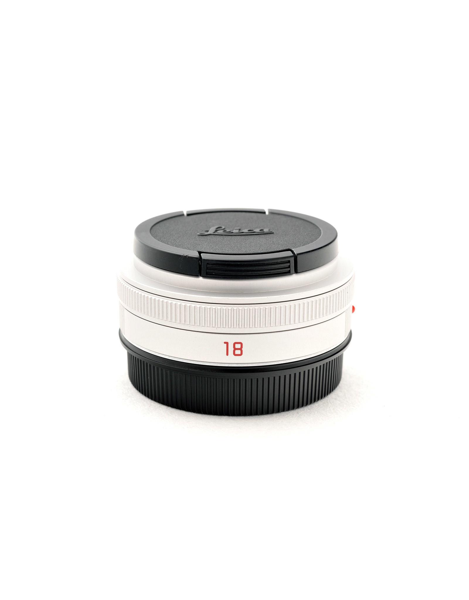 Leica Leica 18mm f2.8 Elmarit-TL ASPH Silver   AP1062503