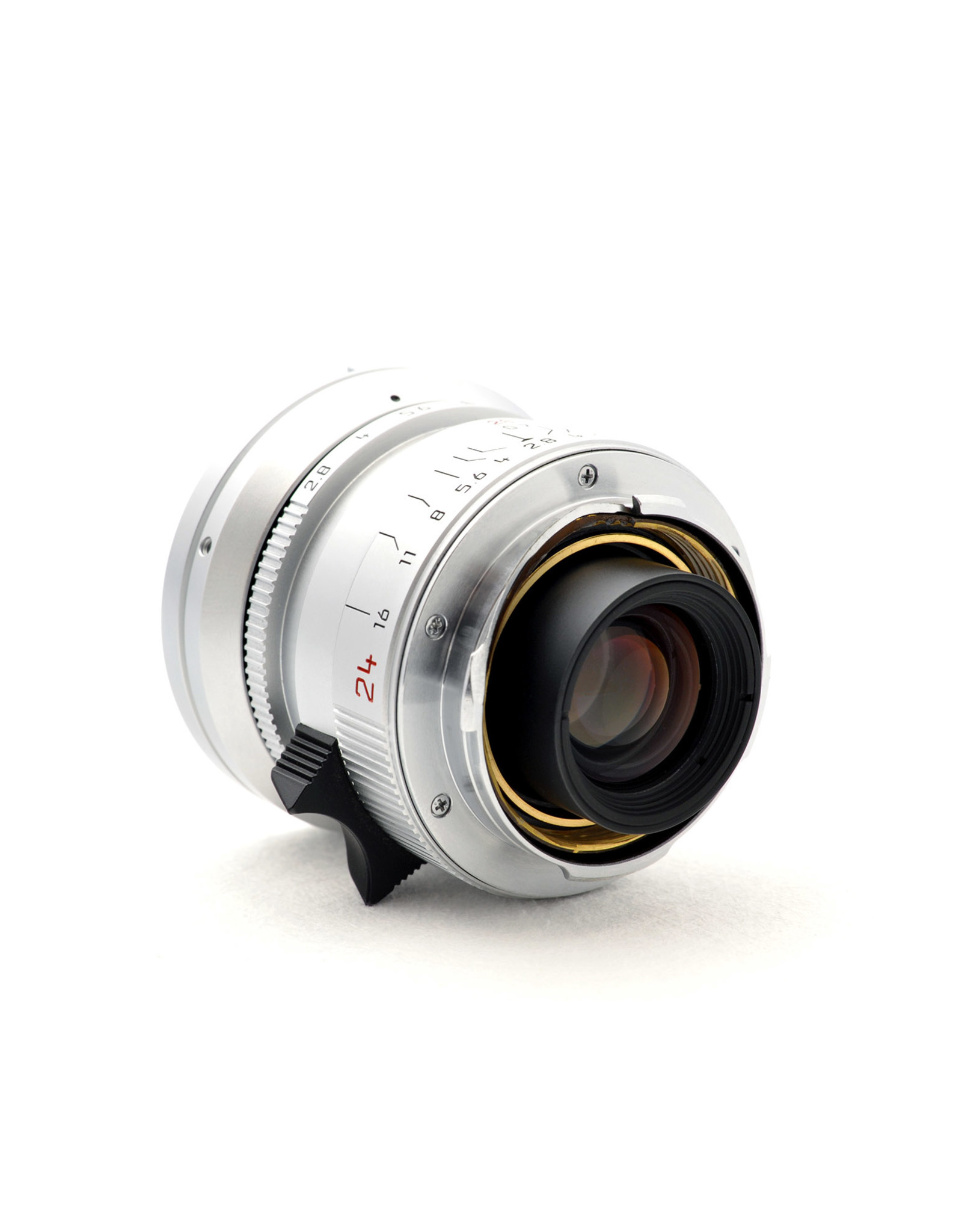 Leica Leica 24mm f2.8 Elmarit-M Silver Chrome   ALC120601