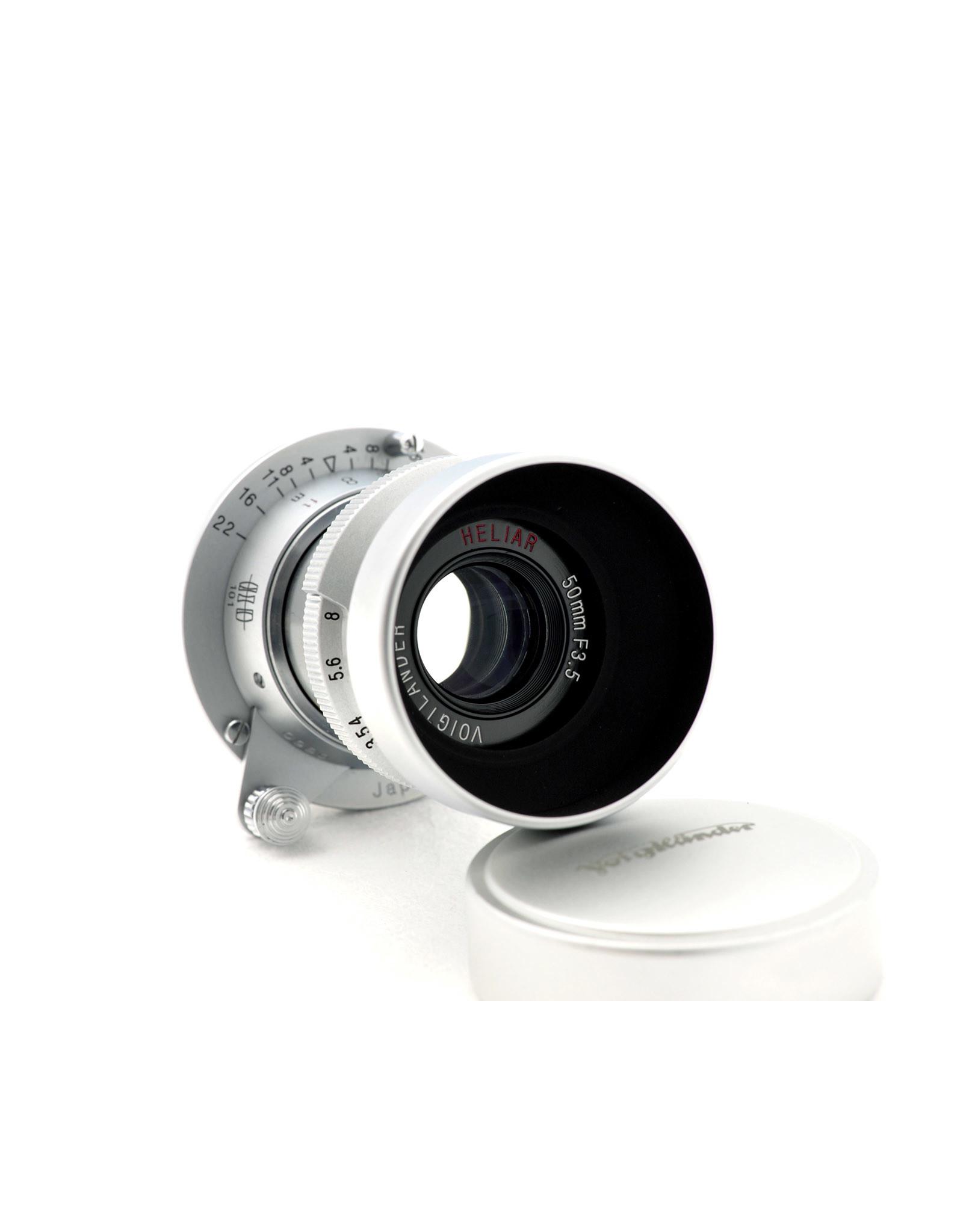 Voigtlander Voigtlander 50mm f3.5 Heliar 101 collapsible L39 Silver    ALC120705