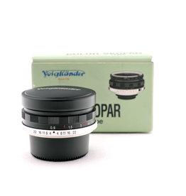 Voigtlander Voigtlander 35mm f2.5 MC  Color-Skopar P L39  Black   ALC120703