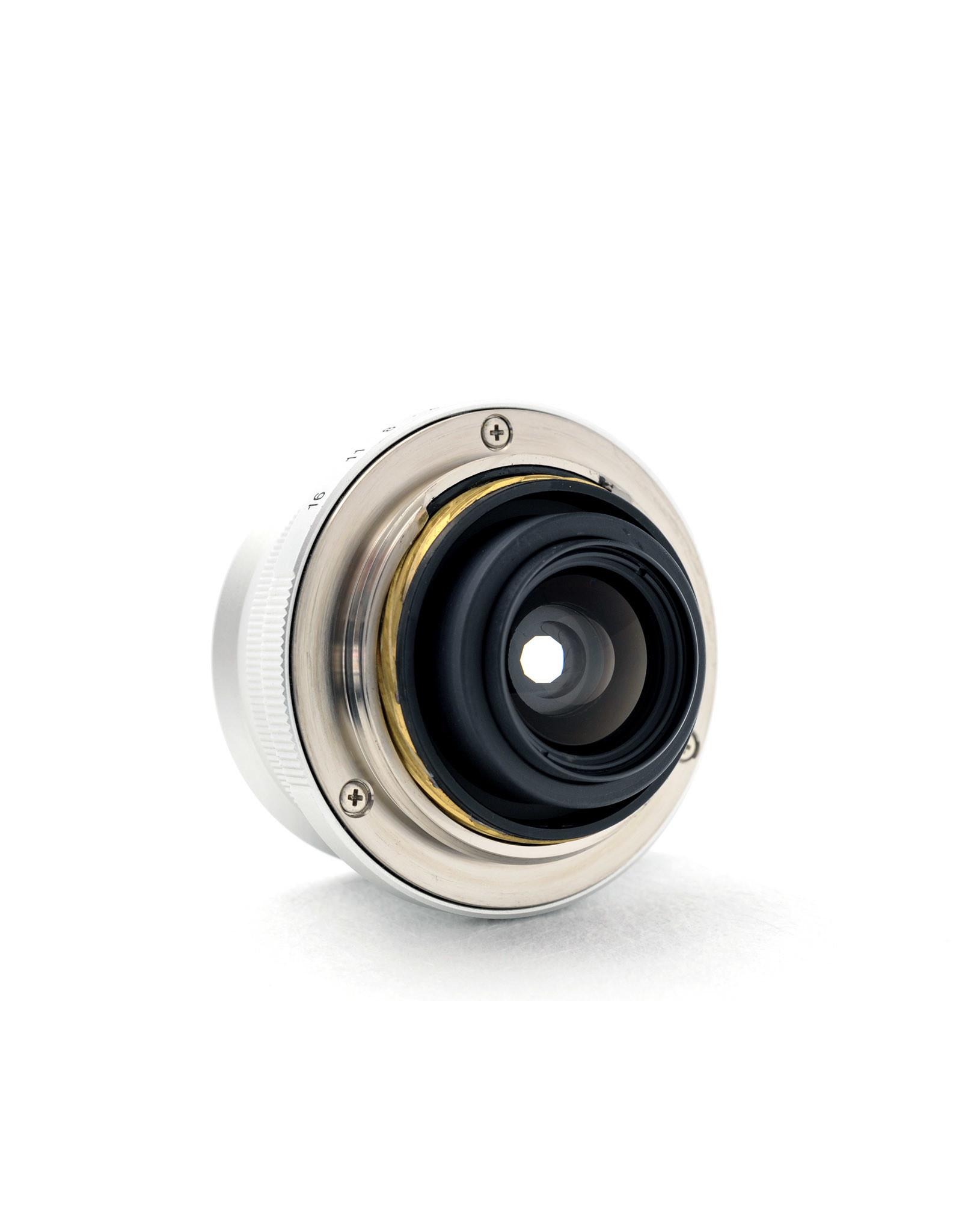 Voigtlander Voigtlander 21mm f4 Color-Skopar L39 Silver + View Finder   ALC120701