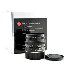 Leica Leica 50mm f2 Summicron-M Black   AP1072302