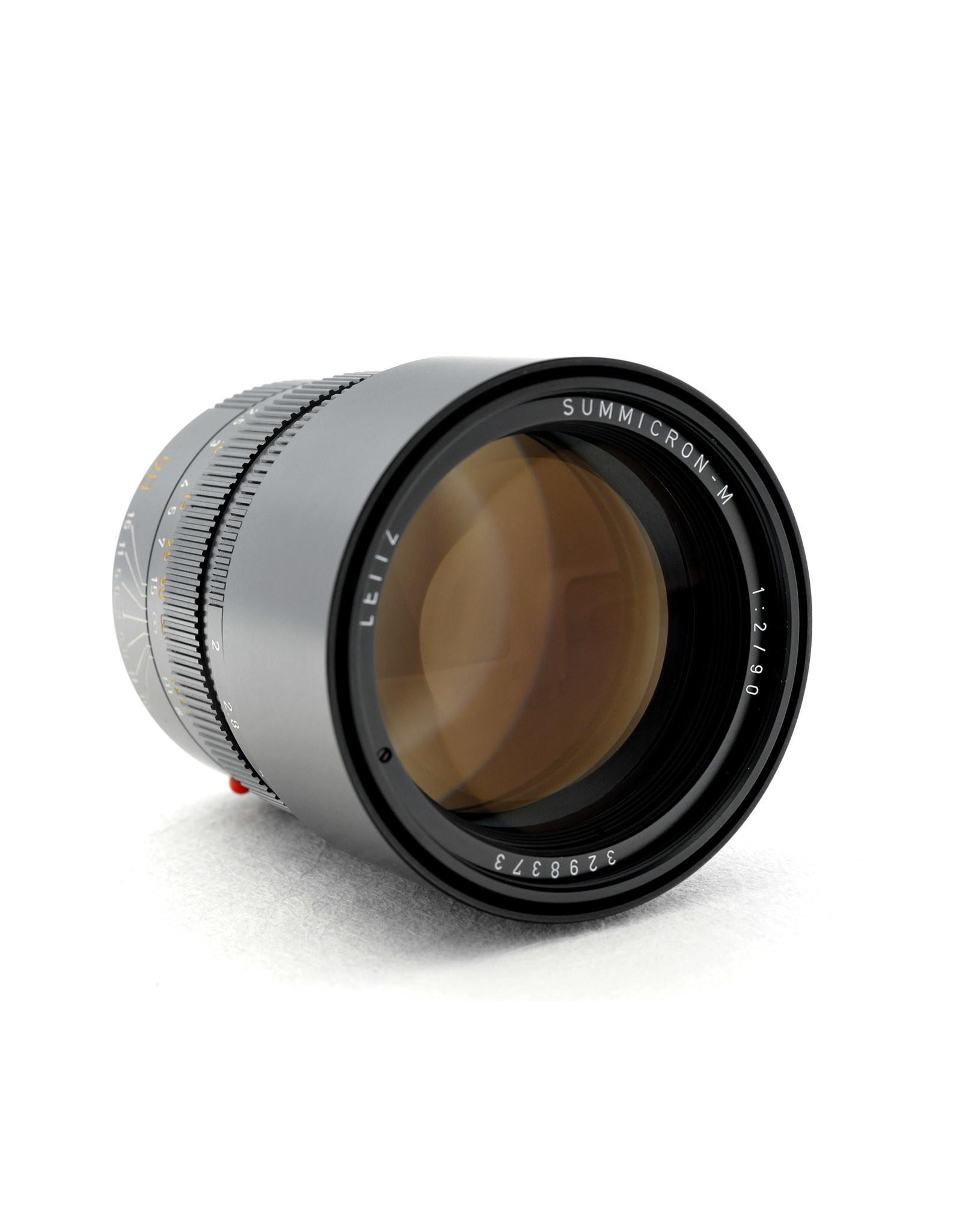 Leica Leica 90mm f2 Summicron-M Black   AP1061211