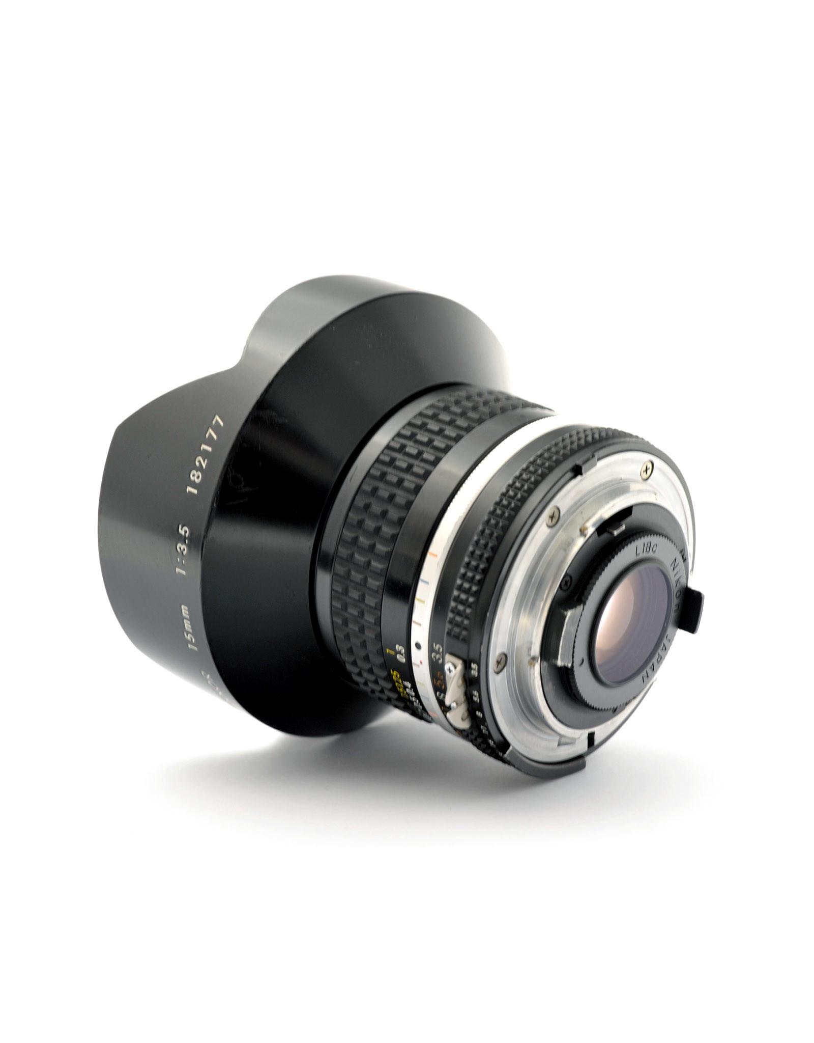 Nikon Nikon 15mm f3.5 AIS   AP1051230