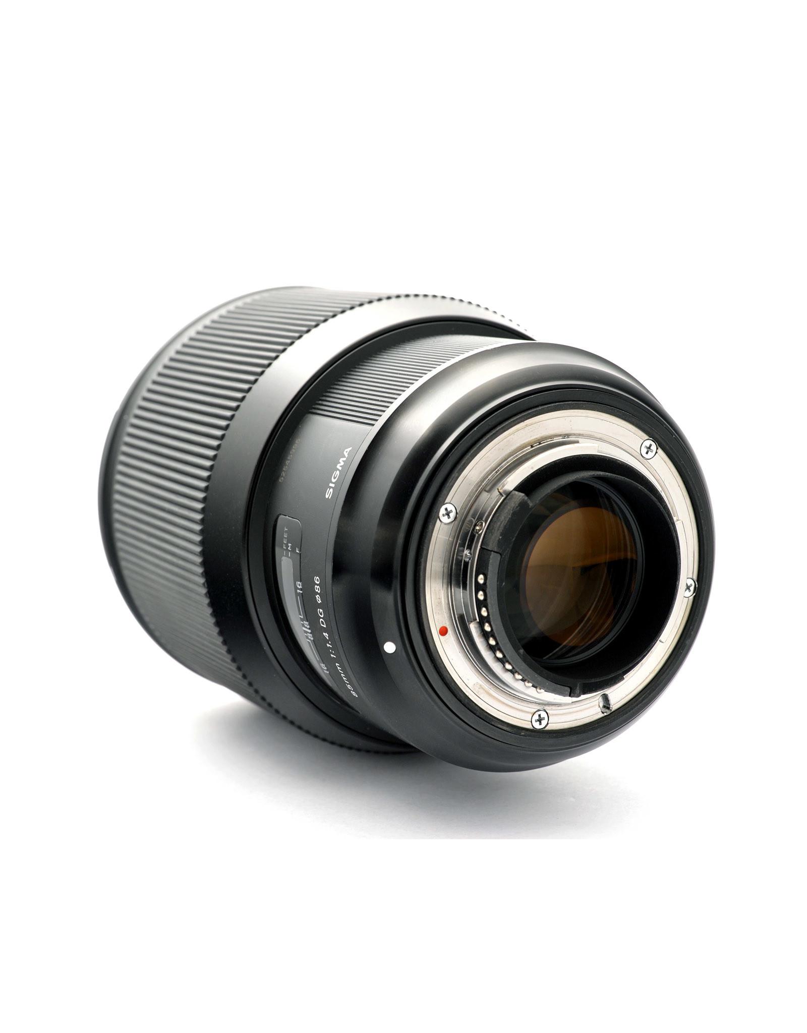 Sigma Sigma 85mm f1.4 DG HSM Art   AP1080301