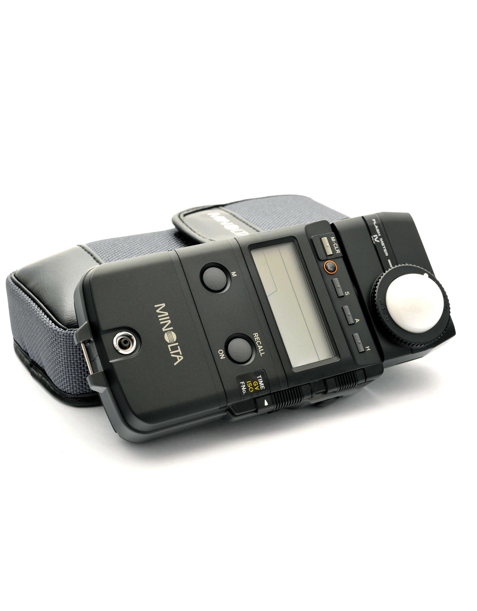 Minolta Minolta Flash Meter IV   AP1051240