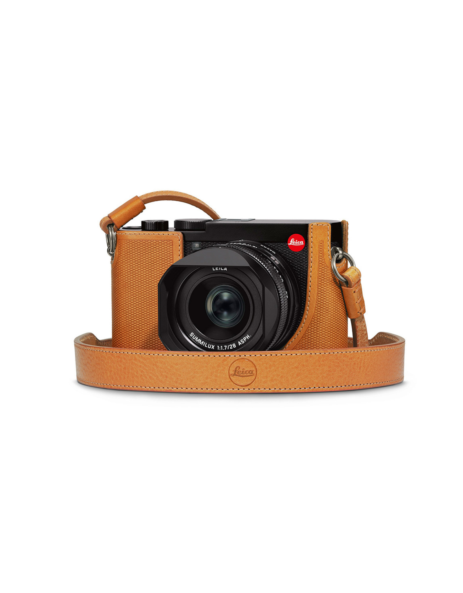 Leica Leica Q2 Leather Protector Brown   195-67