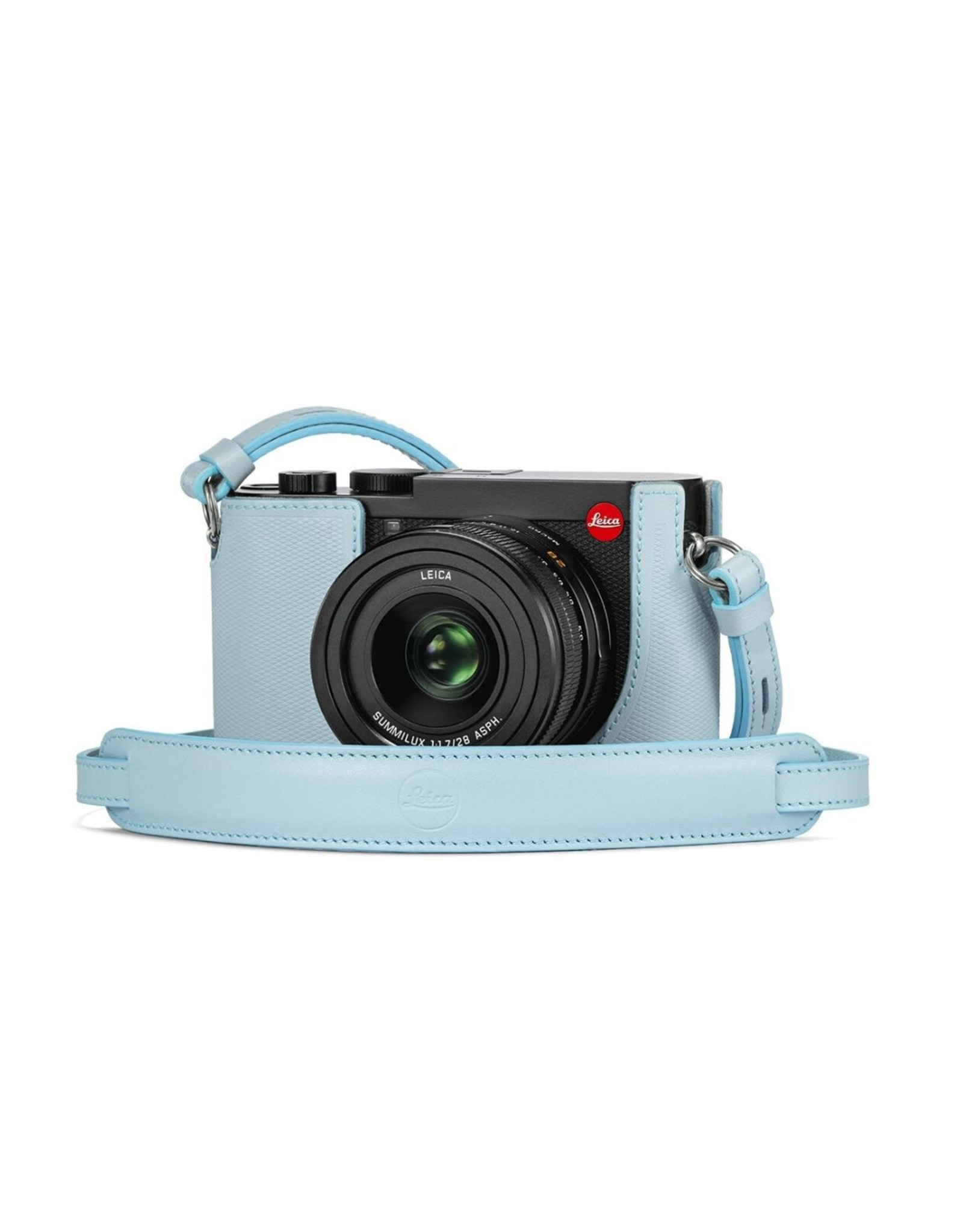 Leica Leica Carrying Strap-Q2 Light Blue   195-79
