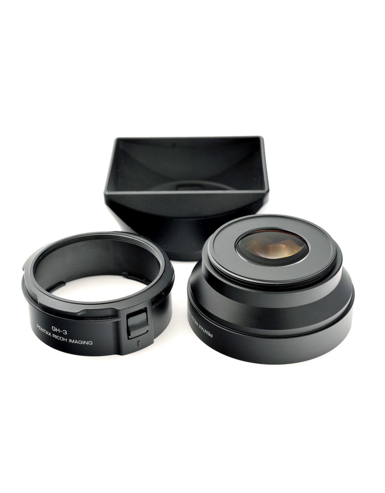 Ricoh Ricoh GW-3 0.75x Wide Conversion Lens +  GH-3 Hood & Adapter   AP1081402