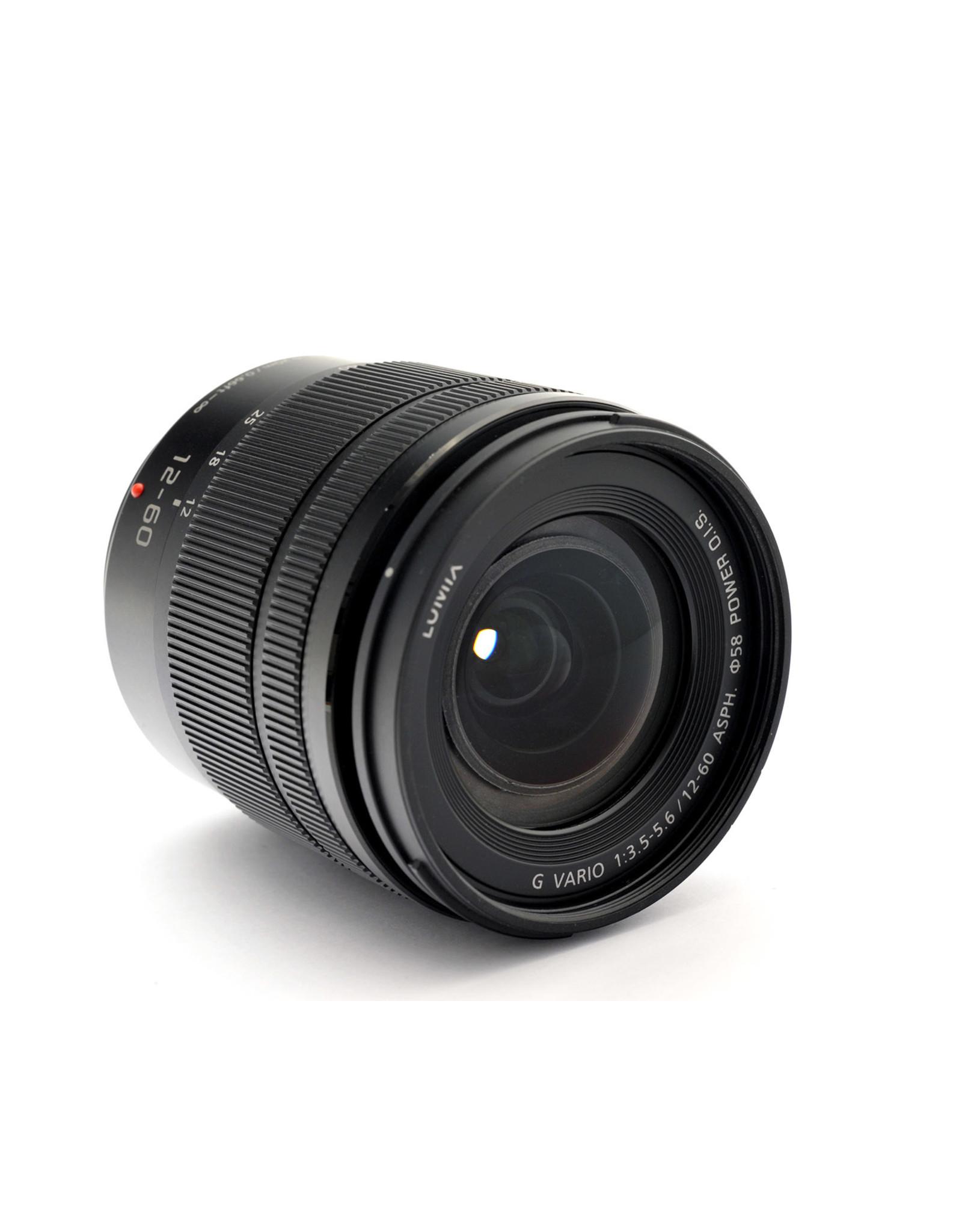Panasonic Panasonic 12-60mm f3.5-5.6 Vario-G ASPH   AP1082303