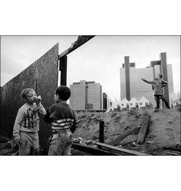 Ian Berry Ian Berry, Children Playing on Deserted Ground