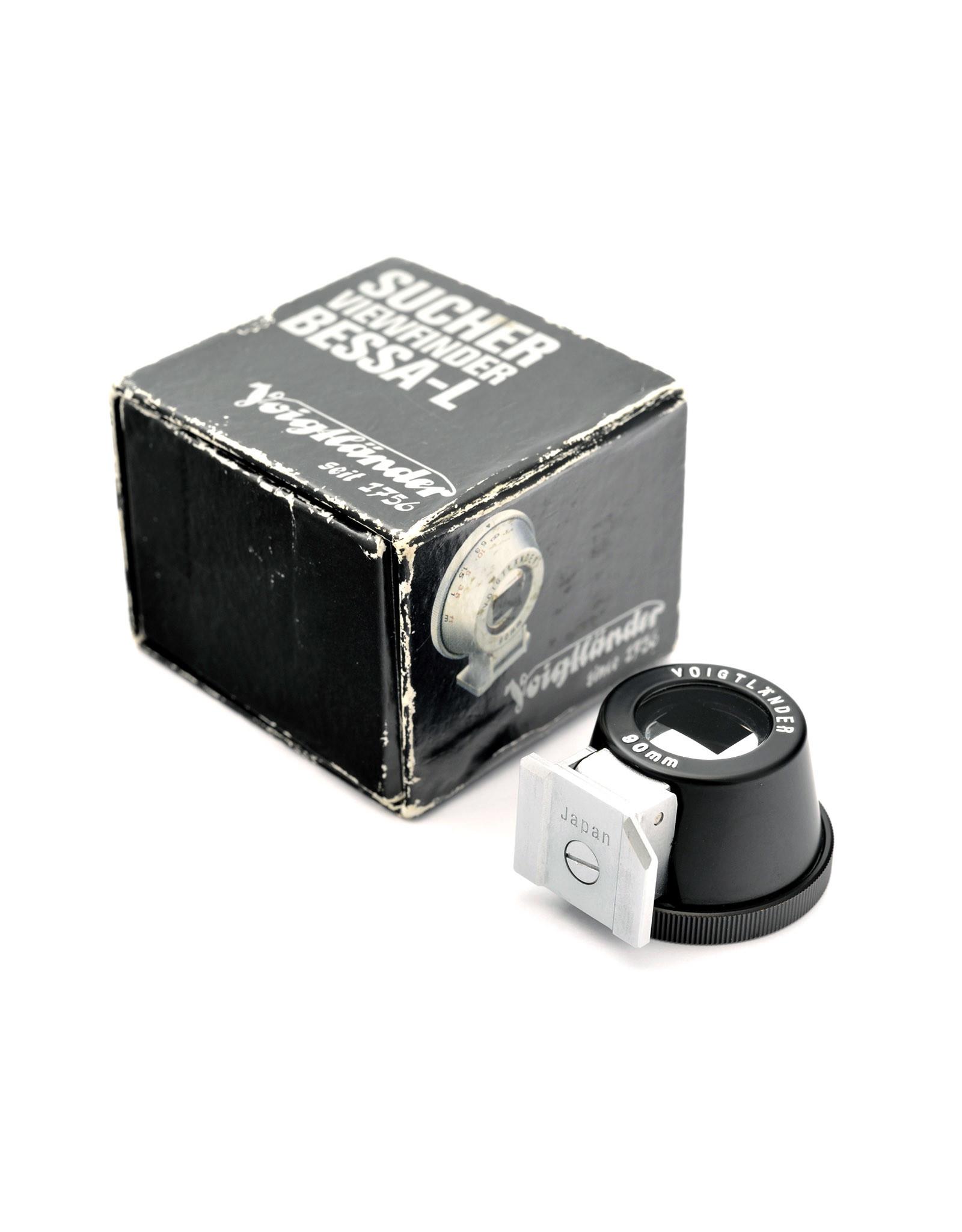 Voigtlander Voigtlander 90mm Bright Line Metal Viewfinder Black   AP1082104