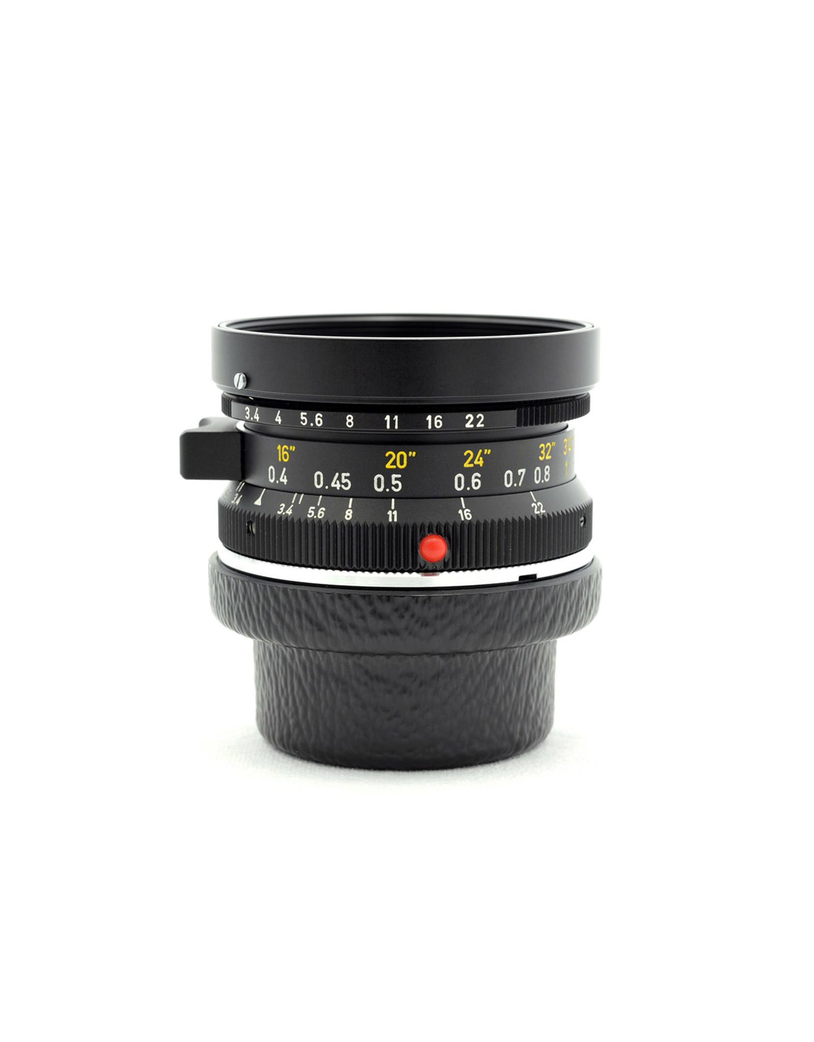 Leica Leica 21mm f3.4 Super-Angulon Black
