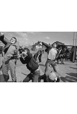 Ian Berry Young Men Hurling Rocks and Molotov Cocktails, Belfast, Northern Ireland. Ian Berry (37)