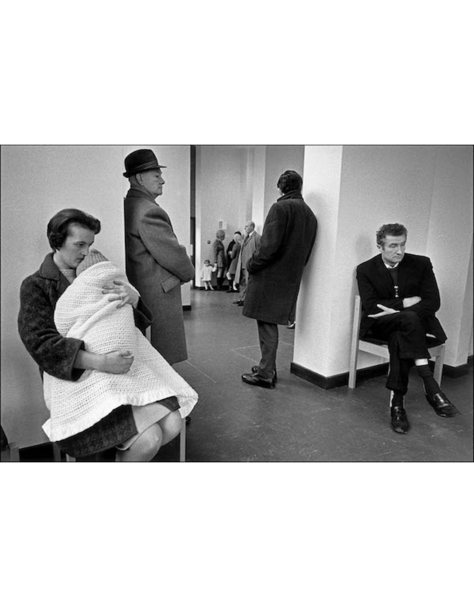 Ian Berry Patients Queueing in a Doctor's Waiting Room, London. Ian Berry (33)