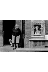 Ian Berry Elderly Woman with Her Dog Outside Her House, London. Ian Berry (47)