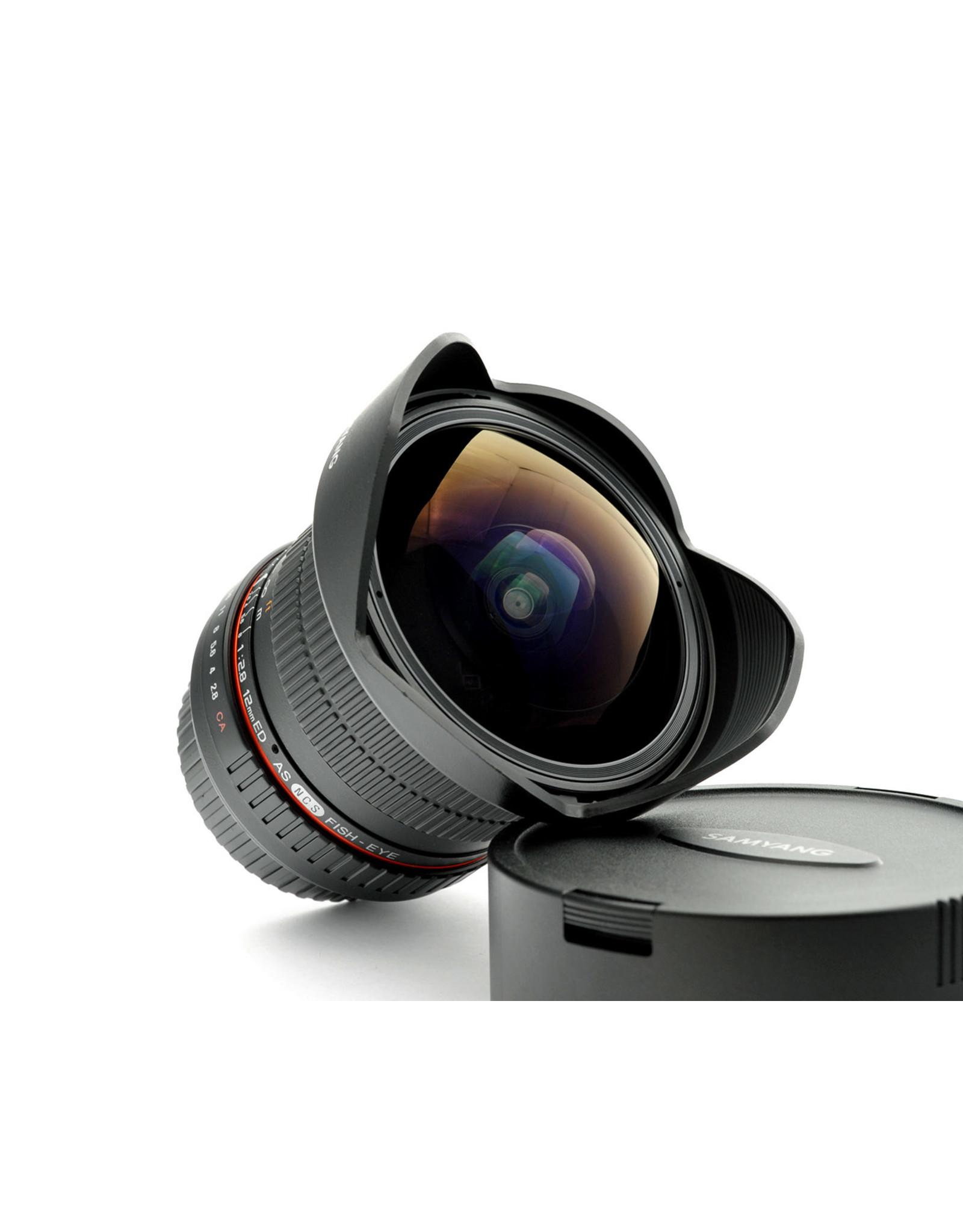 Samyang Samyang 12mm f2.8 ED AS NCS Fisheye   AP1083116