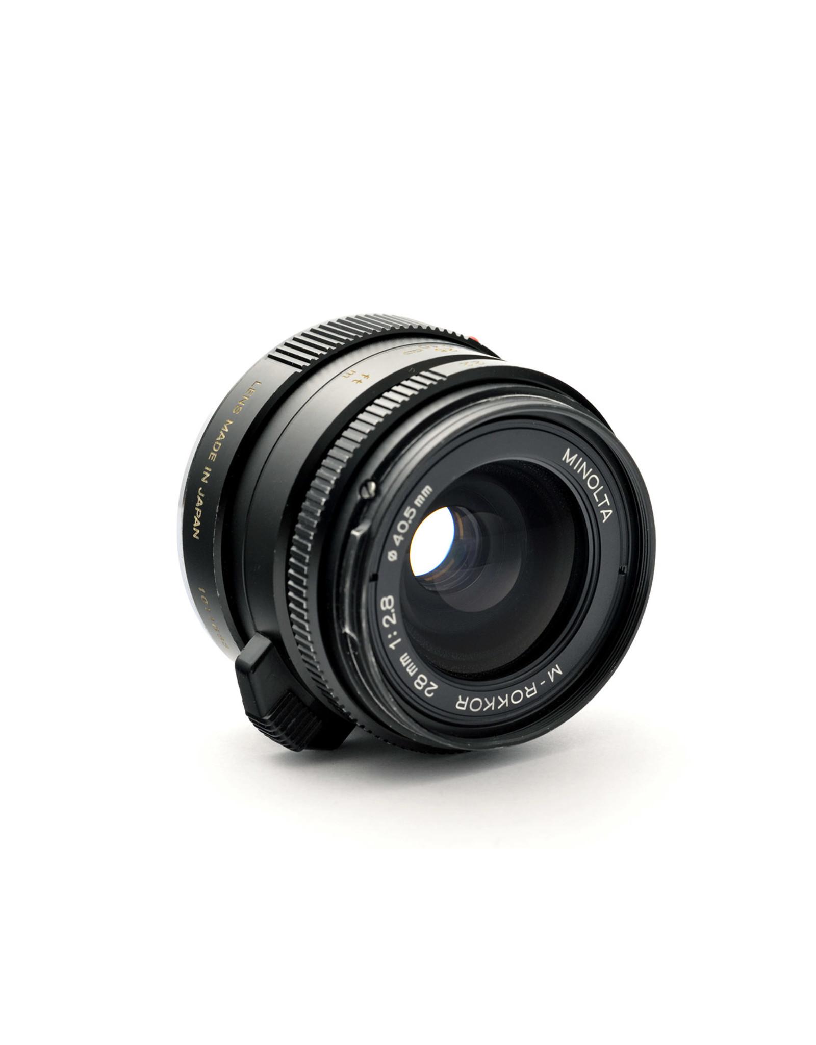 Minolta Minolta 28mm f2.8 M-Rokkor   AP1083118