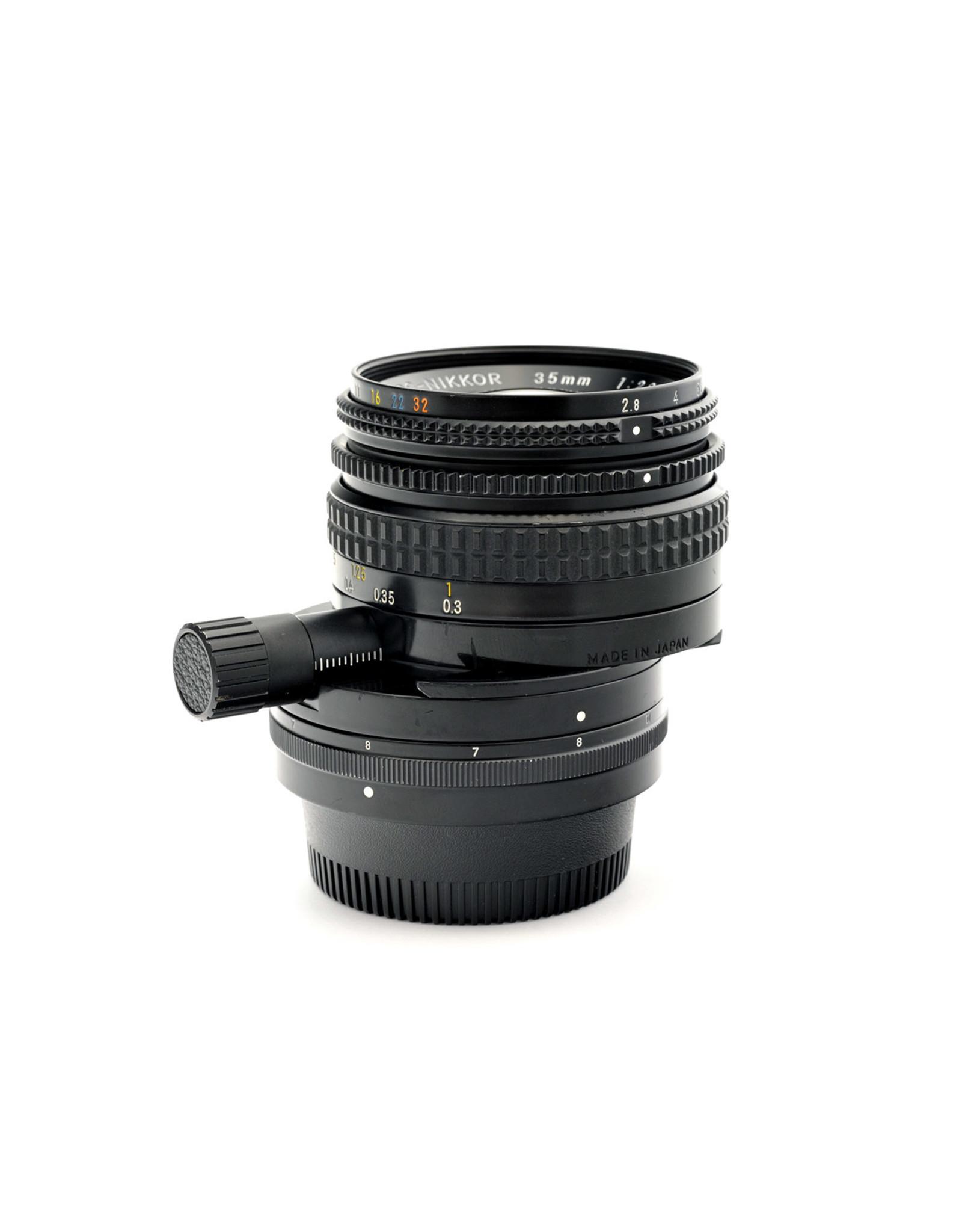 Nikon Nikon 35mm f2.8 PC-Nikkor       ALC1219011