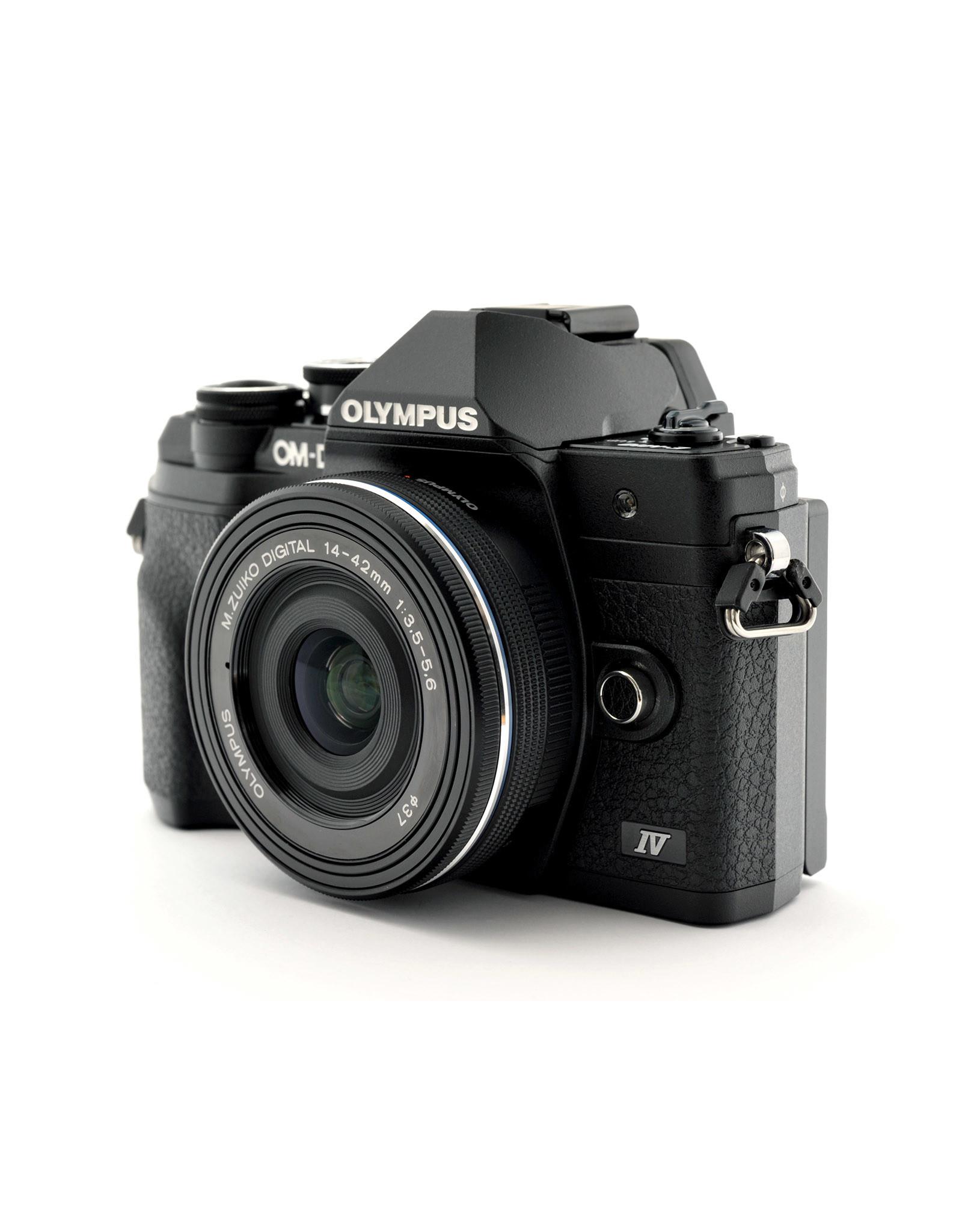 Olympus Olympus OM-D E-M10 IV Bundle (14-42mm EZ + 40-150mm R & 45mm f1.8)   ALC122103