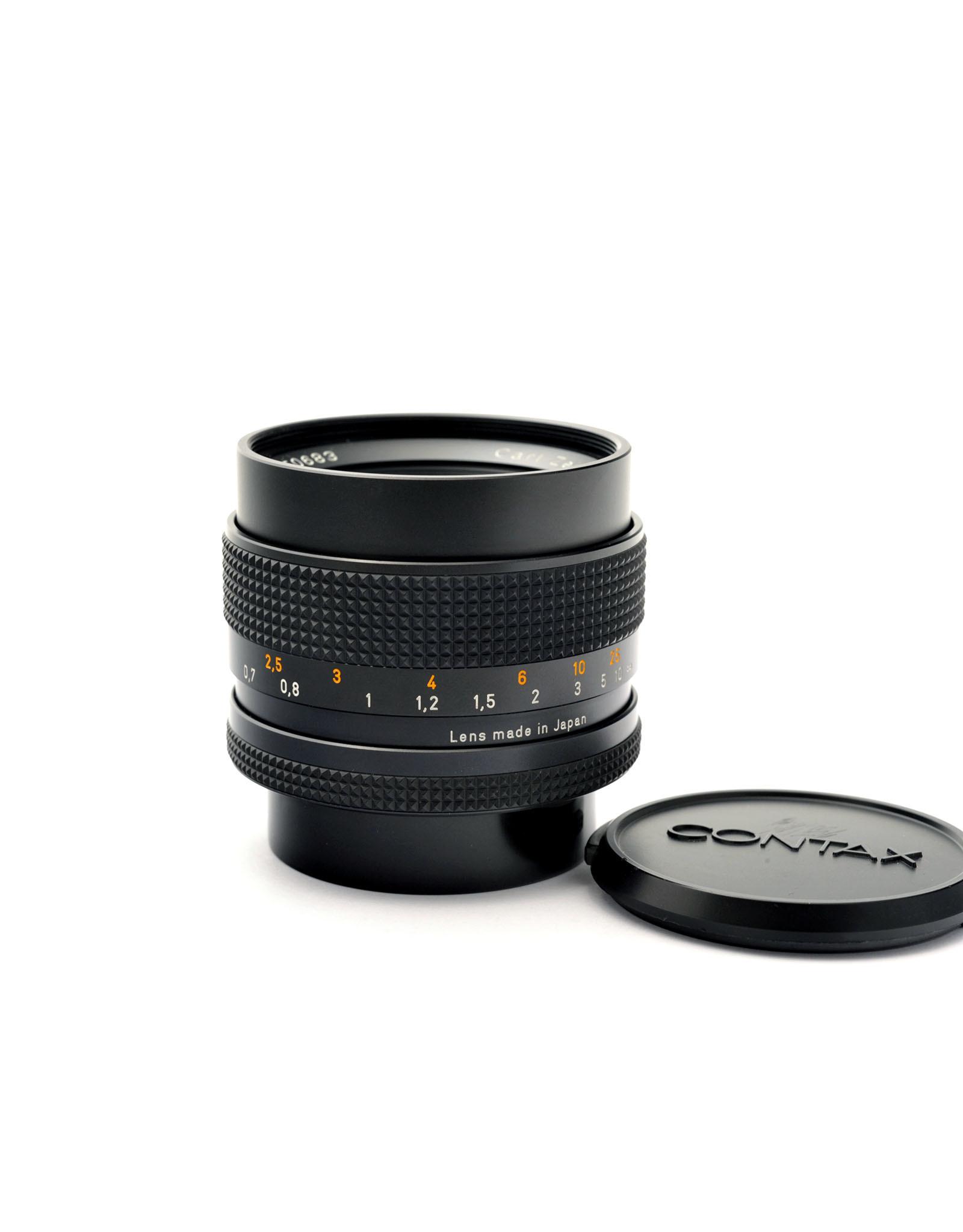 Contax Contax 50mm f1.4 Planar T* AE   AP1092101