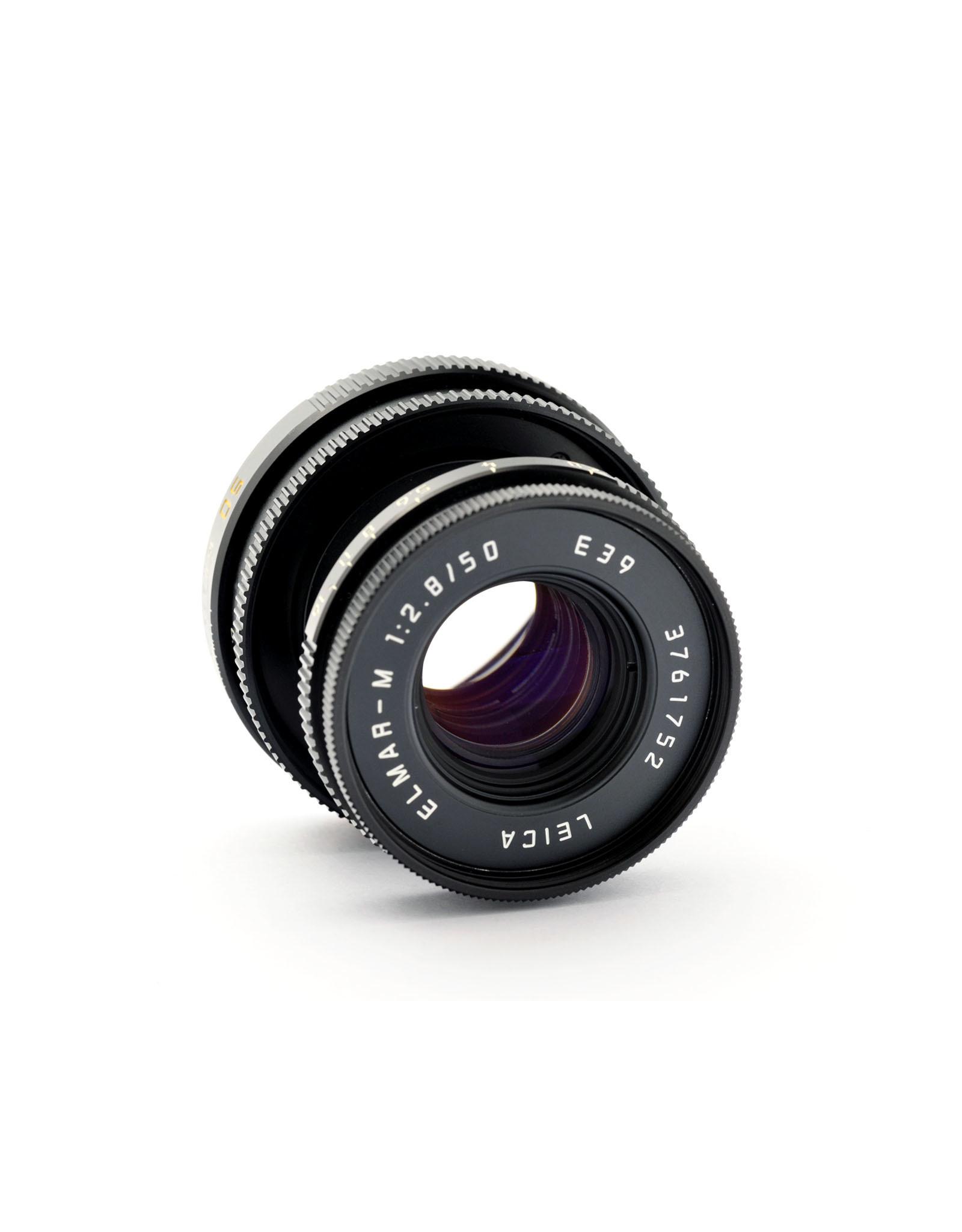 Leica Leica 50mm f2.8 Elmar-M Black (Coded 6 bit)  AP1091102