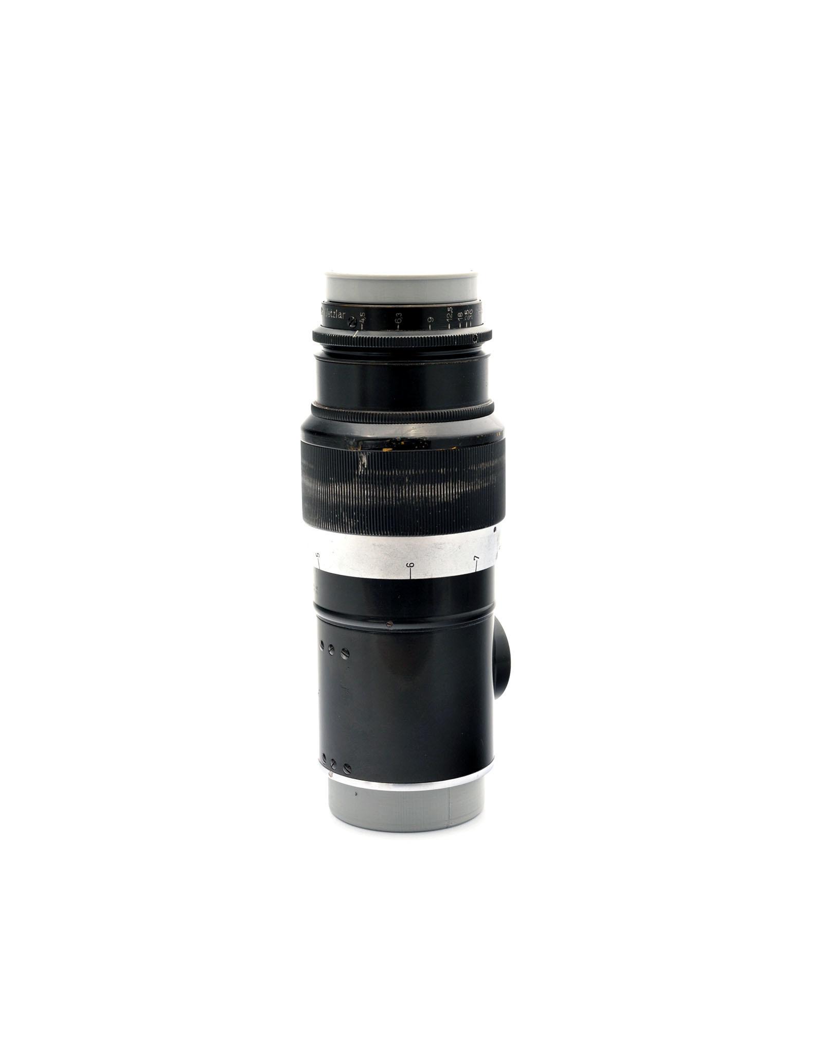 Leica Leica 13.5cm f4.5 Hektor Black Paint L39    AP1092910