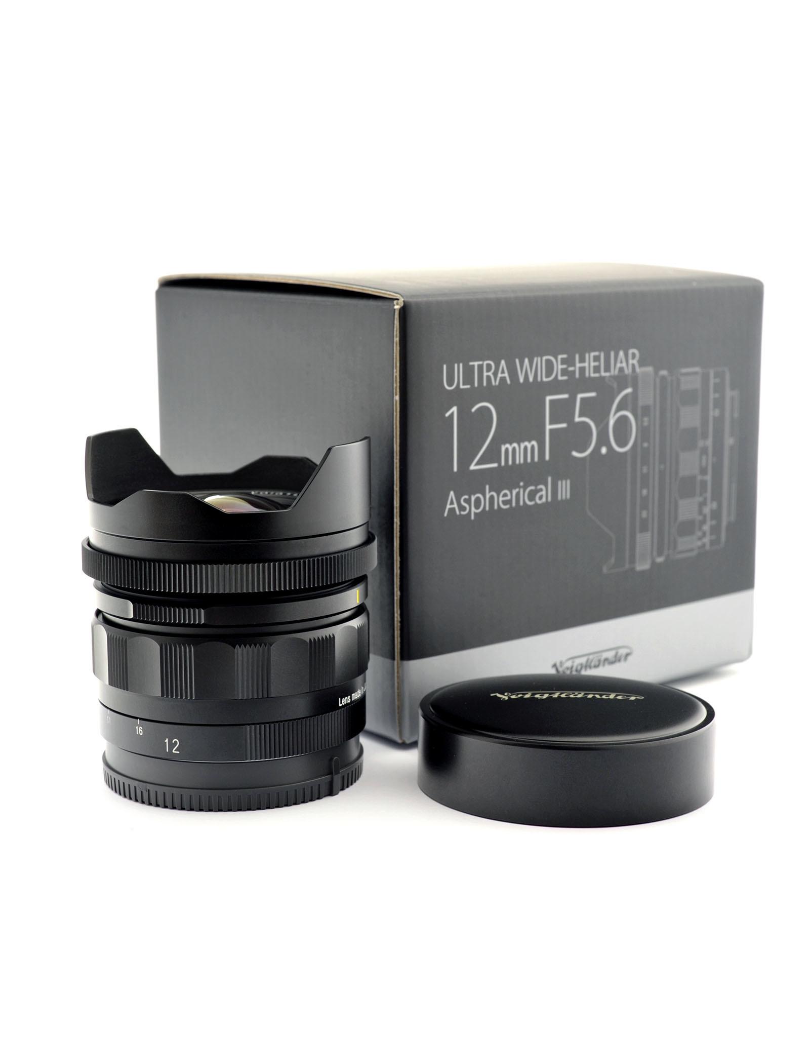 Voigtlander Voigtlander 12mm f5.6 Ultra Wide-Heliar III  (Sony E Mount)  AP1100201