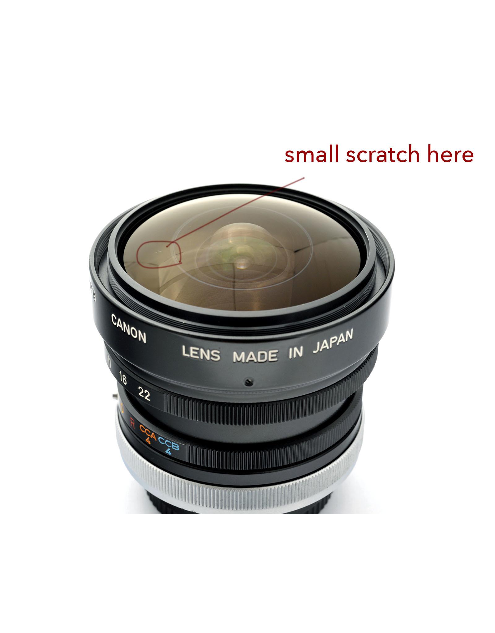 Canon Canon FD7.5mm f5.6 Fisheye SSC   ALC121201