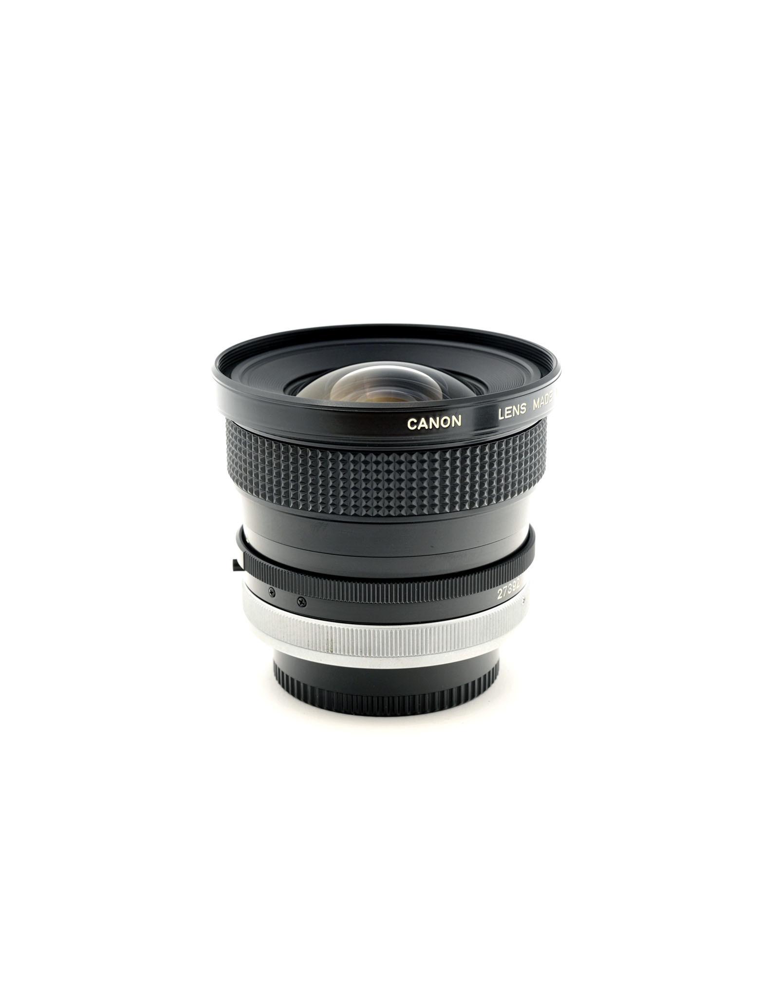 Canon Canon FD17mm f4 SSC   ALC121203