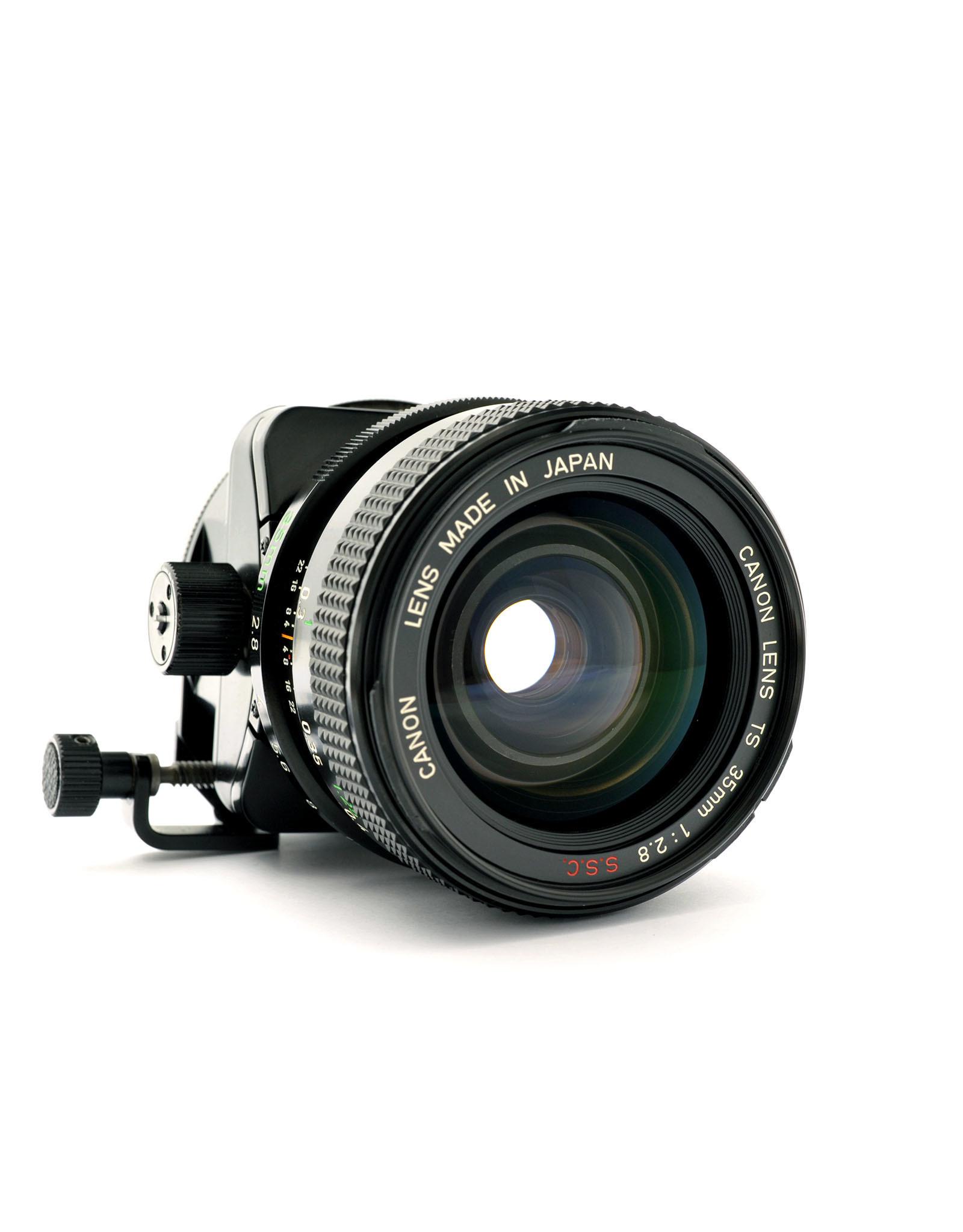 Canon Canon TS35mm f2.8 SSC   ALC121204
