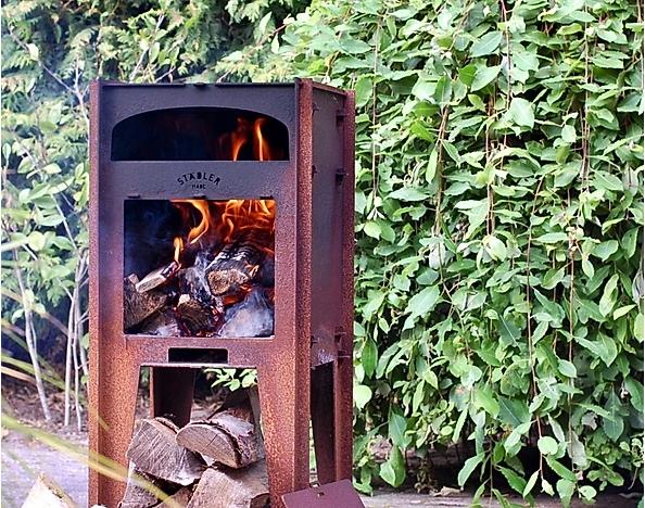 Stadler made cortenstaal pizza oven