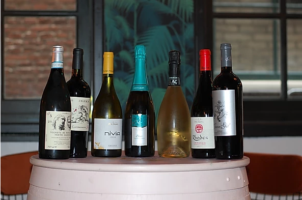 Het eigen import wijnassortiment