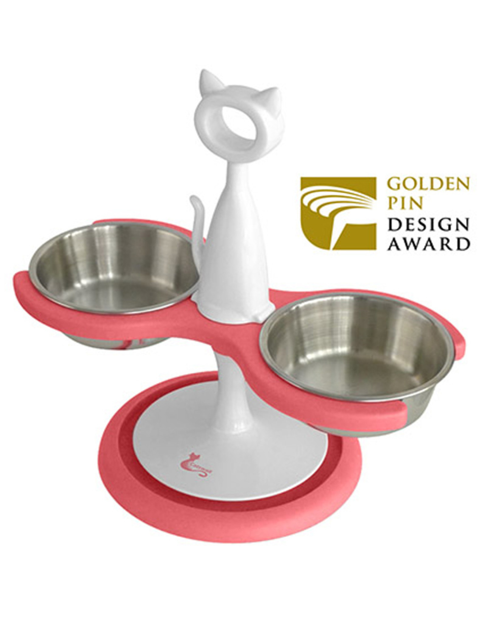 Catswall Design feeder 2 bowls