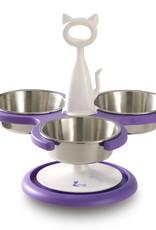 Catswall Design eet-en drinkbak 3 bowls feeder