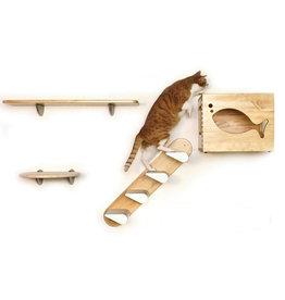 Catswall Katten klimmuur set - 4 stuks