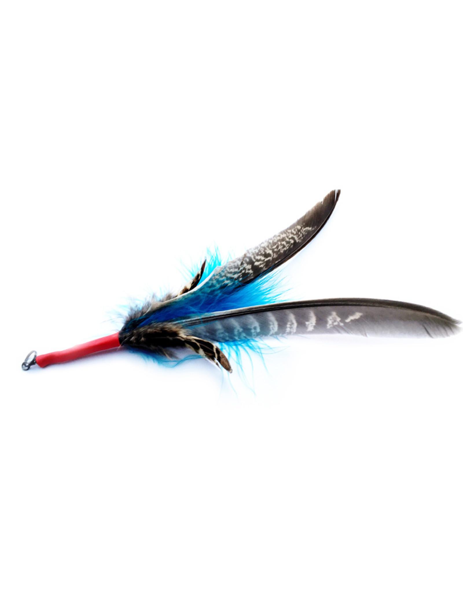 Purrs Feather Spinner - standaard vogel