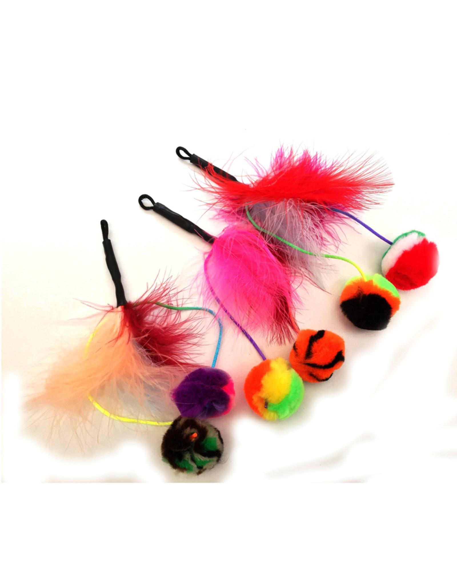 Purrs Feather Pomz - verenpompons