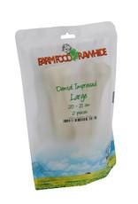 Farm Food Rawhide Dental Impressed  2 stuks L