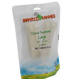 Farm Food Dental impressed Rawhide pouch