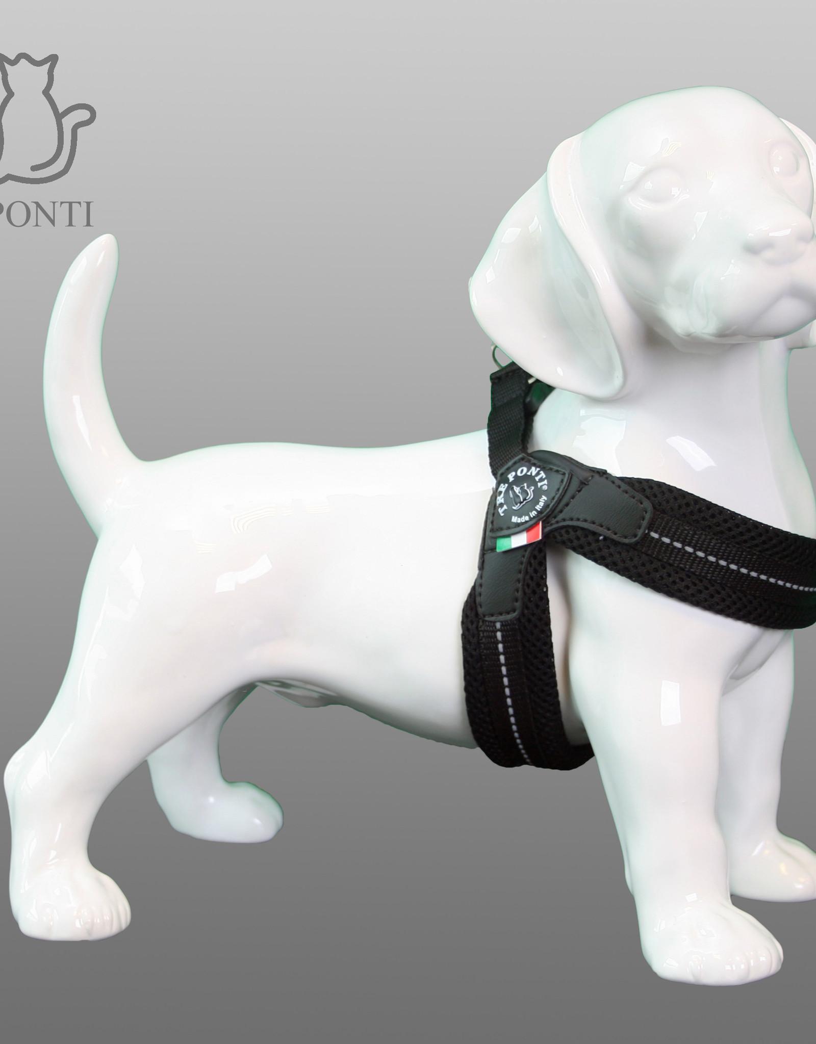 Tre Ponti Fibbia mesh tuig voor kleinere honden