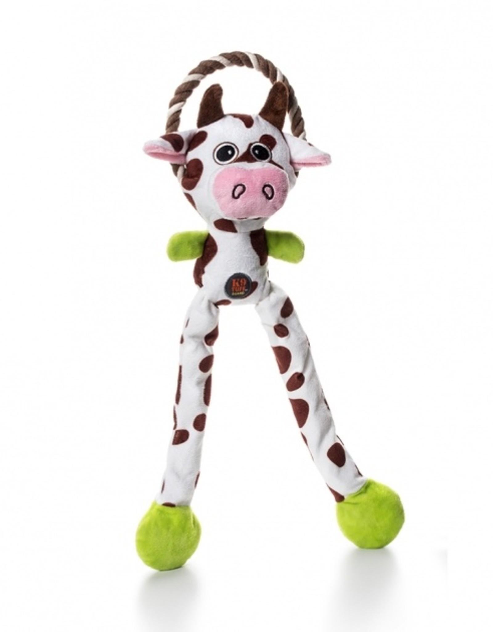 Charming/Petstages Thunda Tugga Leggy cow hondenspeelgoed